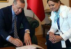 Erdoğan, Kadem Vakfına kurban bağışı yaptı
