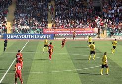 Necmi Kadıoğlu Stadyumu Galatasaraya uğurlu geldi