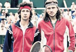 Beyaz perdede  tenis rekabeti