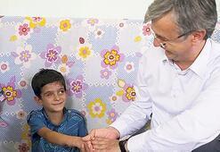 Mahmut protez göze kavuşuyor