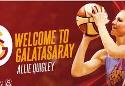 Galatasaray, Alexandria Allie Quigleyi kadrosuna kattı.