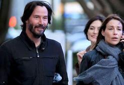 Keanu Reevesin esmer güzeli