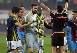 Gözler Tahkimin Trabzonspor-Fenerbahçe maçı kararında