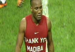 Drogba, Madibayı unutmadı