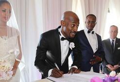 Zokoranın düğününe sadece Bosingwa geldi