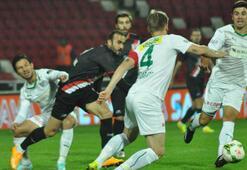 Bursaspor deplasmanda şov yaptı