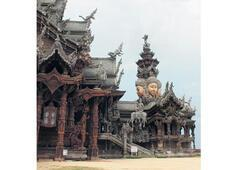 Heykel ve tapınak cenneti Tayland