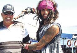 Dalyan'ın Jack Sparrow'u