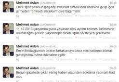 Mehmet Aslandan şok tweet