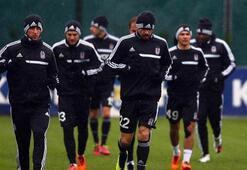 Beşiktaş 7 eksikle çalıştı