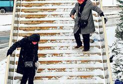 Karda kayıp düşmemek için bunlara dikkat edin