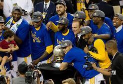 NBAde Golden State Warriors Batı Konferası şampiyonu oldu