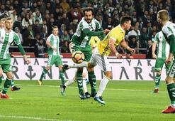 Atiker Konyaspor - Fenerbahçe: 1-1 (İşte maçın özeti)
