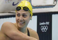 Olimpiyat şampiyonu Rice yüzmeyi bıraktı