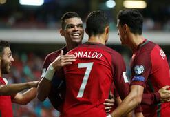 Portekizi Ronaldo sırtladı