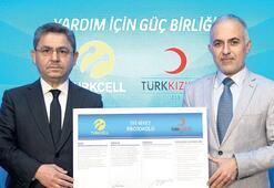 Turkcell'den Kızılay'a 5 milyon TL'lik destek