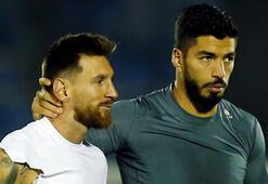Messi ile Suarez yenişemedi