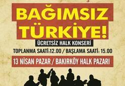 Grup Yorum 4. Bağımsız Türkiye Konseri 13 Nisanda