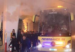 Fenerbahçe, Konyada coşkuyla karşılandı