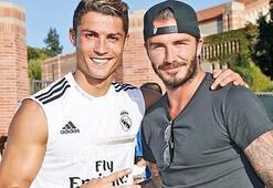 Beckhamın hedefi Cristiano Ronaldo