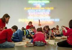 İstanbul Modernde çocuk şenliği