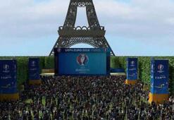 Euro 2016da Eiffel taraftara kapanıyor
