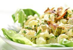Sadece salata ile beslenmek doğru değil