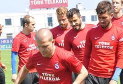 Trabzonsporda Malouda takımla çalıştı