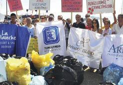 Çatal Ada'yı çöpten gönüllüler kurtardı