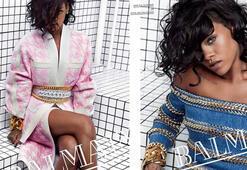 Rihanna Balmainin yüzü oldu