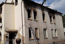 Almanyada Türklerin yaşadığı bölgede yangın: 2 ölü, 10 yaralı