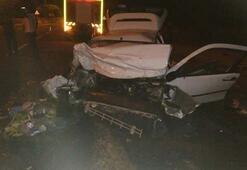 Nevşehir'de trafik kazası: 2 ölü, 3 yaralı