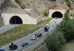 Hinterhalt in einem Tunnel in Gümüşhane: 1 Soldat gefallen, 1 verletzt