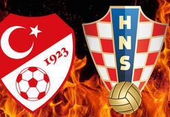 Türkiye Hırvatistan maçı saat kaçta hangi kanalda - Maç şifresiz mi