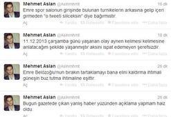 Mehmet Aslandan Emre Belözoğluna sert sözler