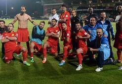 Eskişehirsporun golleri orta sahadan
