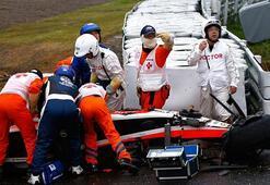 Formula 1 pilotu Jules Bianchinin durumu kritik
