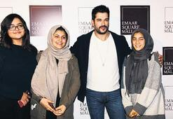 Özçivit'i görmeye  Dubai'den geldiler