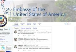 Büyükelçiler Twitterdan Türkçe kınadı