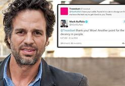 Mark Ruffaloya Twitterdan sürpriz