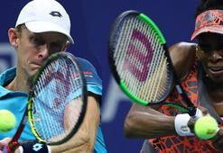 ABD Açıkta Venus Williams ve Kevin Anderson yarı finalde