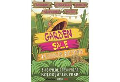 Garden Sale KüçükÇiftlik Park'ta