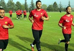 Eskişehirsporda idmana Boffin ve Hürriyet katılmadı