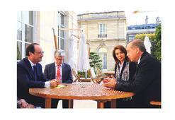 Hollande ile IŞİD  ve Esad uzlaşısı