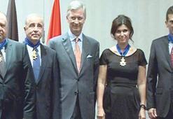 Öztüre'ye Belçika Kraliyet nişanı