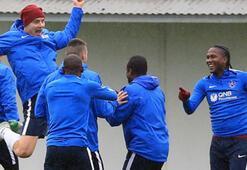 Trabzonspor, Kardemir Karabükspor maçının hazırlıklarını sürdürdü