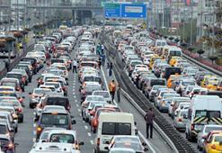 Konut sayısı arttıkça trafik de artıyor