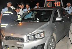 Otomobile hız sabitleyici takınca kaza yaptı
