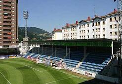 Yıldızlar da burada oynayacak Eibarın stadı Ipura...