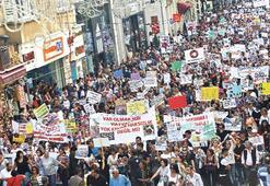Unutulmasın diye yine Taksim'deydiler